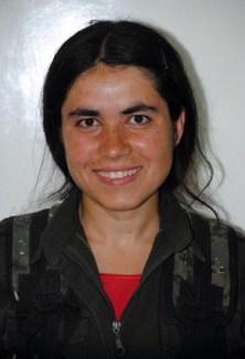 La jove kurda Arin Mirkan.