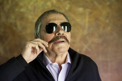 Jaume Mir, con 84 años, en una sesión de fotos para este diario, en el 2013.