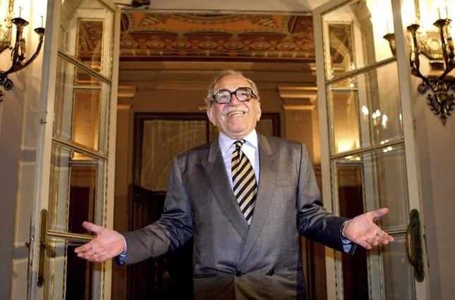 Gabriel García Márquez, a l'arribar a un hotel de Barcelona el 28 d'abril del 2005.