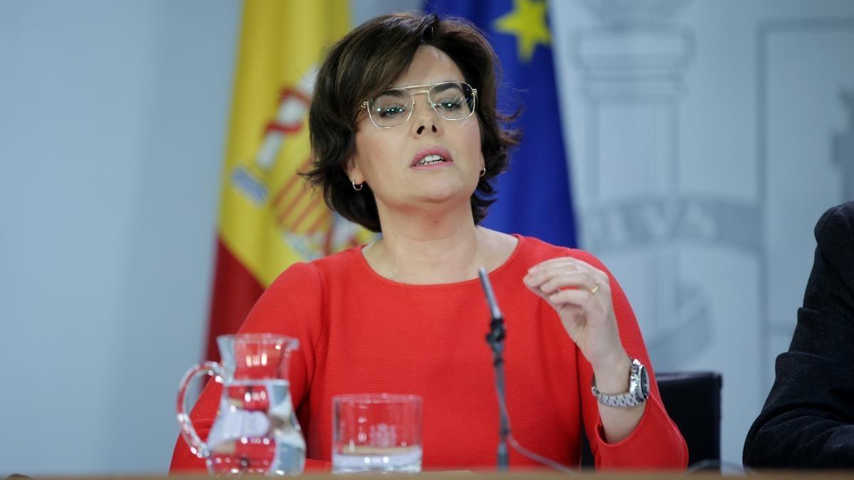 El Gobierno recurre la candidatura de Puigdemont a la investidura ante el TC