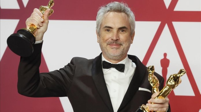 Image result for alfonso cuaron roma oscars