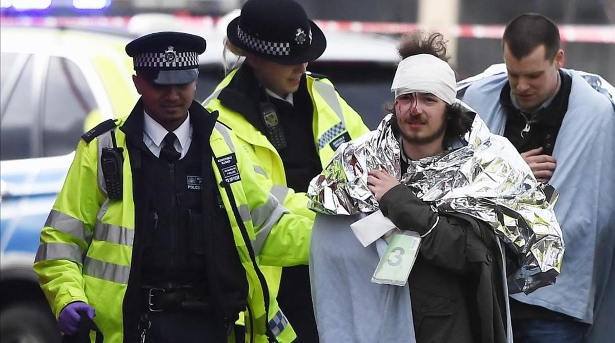 El atentado de Londres, en fotos