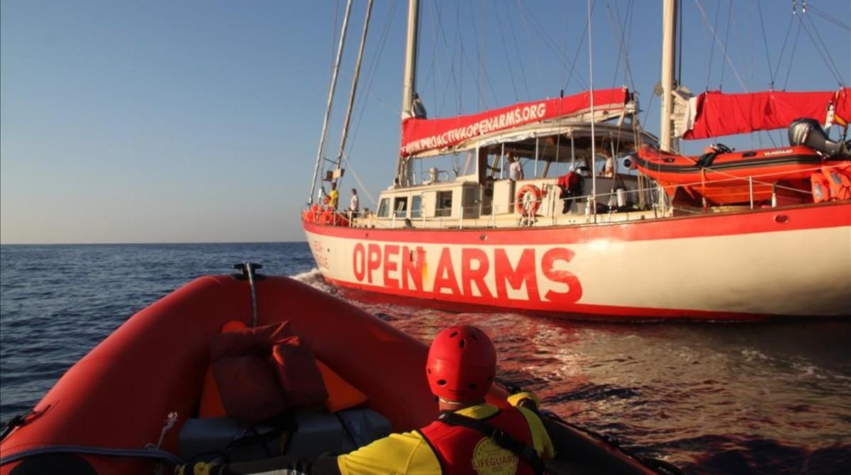 'Astral', el documental sobre el rescate de refugiados en el Mediterráneo, rumbo al estreno