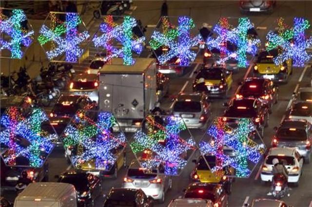 Barcelona encn aquest dijous els llums de Nadal