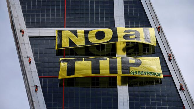 Descubre los nuevos datos del TTIP, desvelados por GREENPEACE