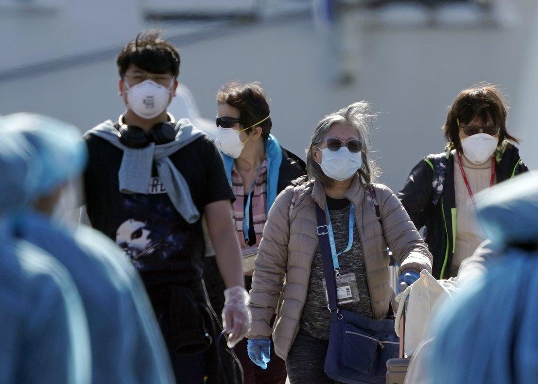 Coronavirus en Japón: 12 muertos y mil personas contagiadas