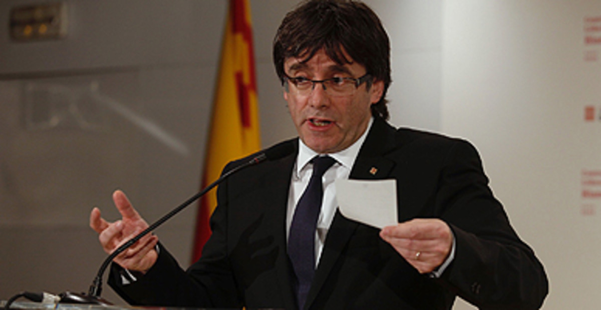 """Puigdemont se abre a presentarse a las elecciones si no acaba """"el trabajo"""""""