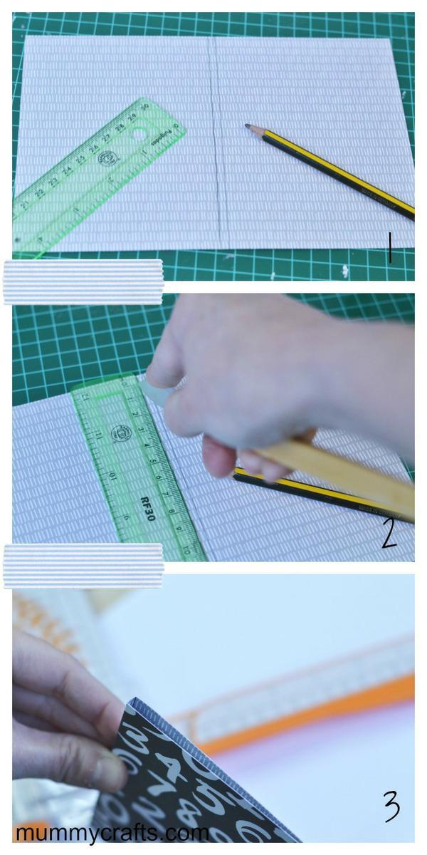 Como hacer las cubiertas de una libreta para encuadernar