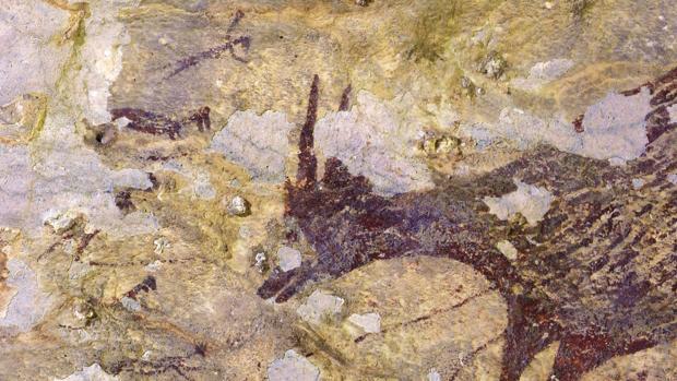 La escena de caza más antigua del mundo.