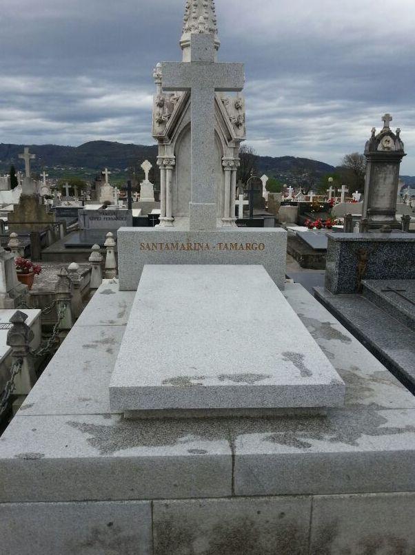 Lpidas de mrmol en Asturias Marmolera Hermanos Prez SL