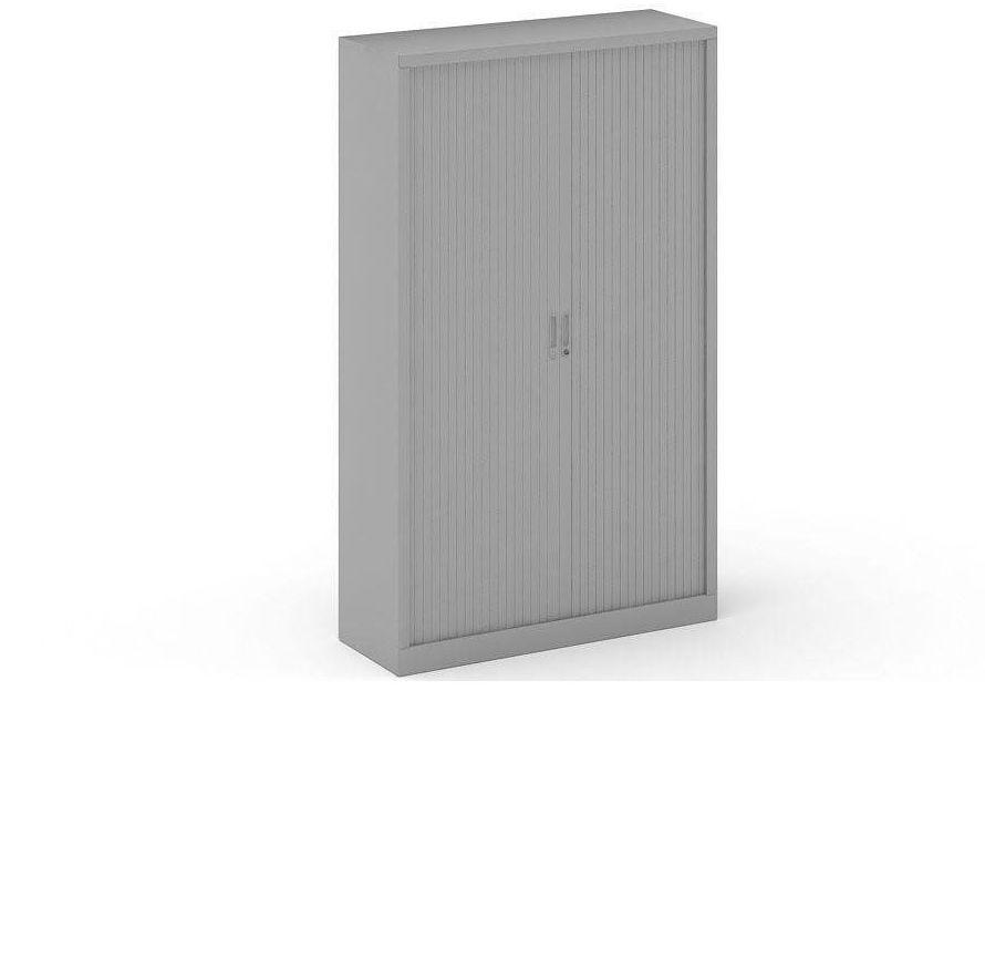 Armarios metalicos de persiana corredera y estantes