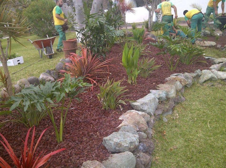 Diseo de jardines en Tenerife  Jardinera Tudor