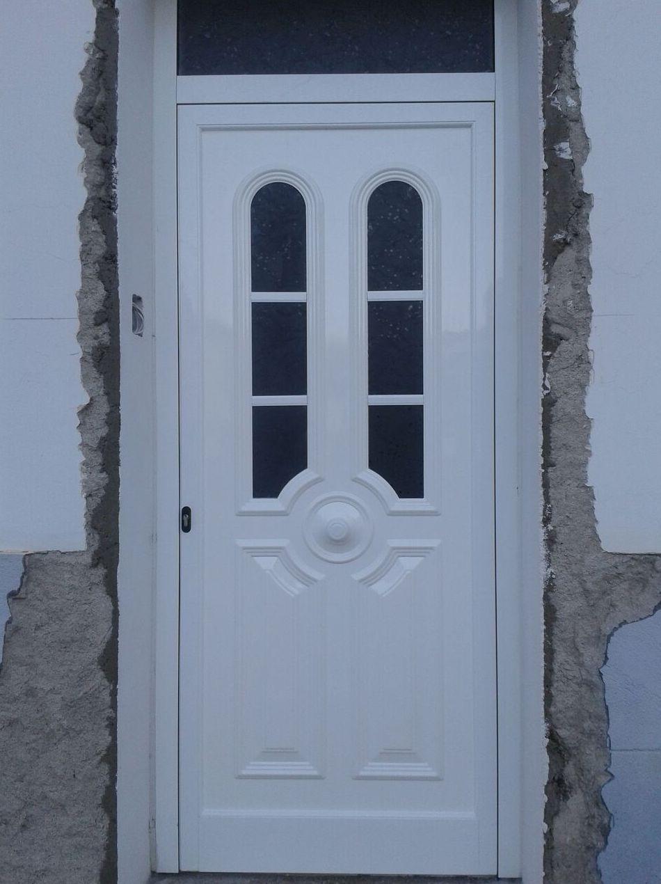 Puertas De Aluminio Blanco Para Exterior Puerta