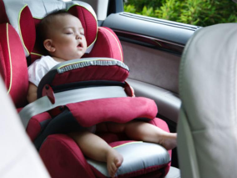 Viajar en coche con el beb