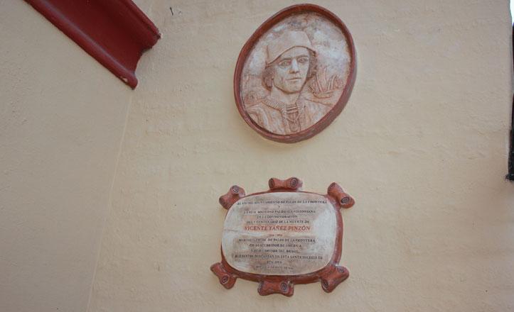 La leyenda de Pinzón que descansa en la parroquia de Santa Ana