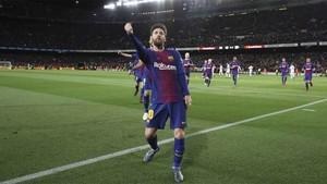 Leo Messi, el jugador que mejores registros tiene en el Camp Nou, jugará este domingo su partido 300 como azulgrana en el coliseo culé