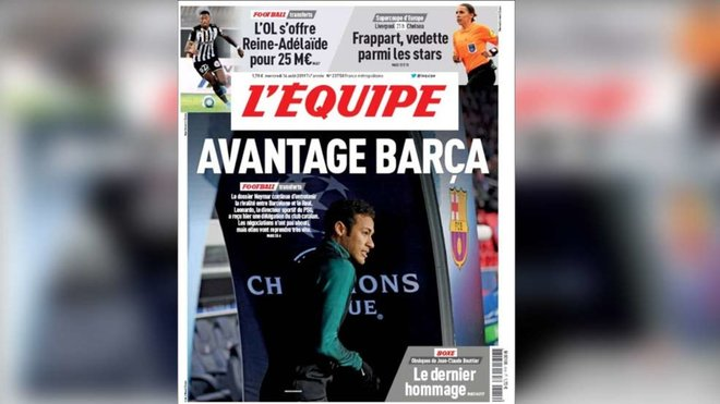 Reports In France Suggest Neymar Is Edging Closer To Barca Move