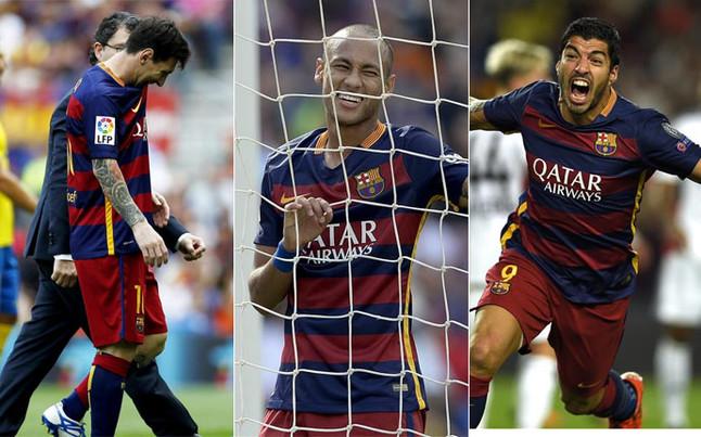 Messi, el tridente y el problema del gol del FC Barcelona