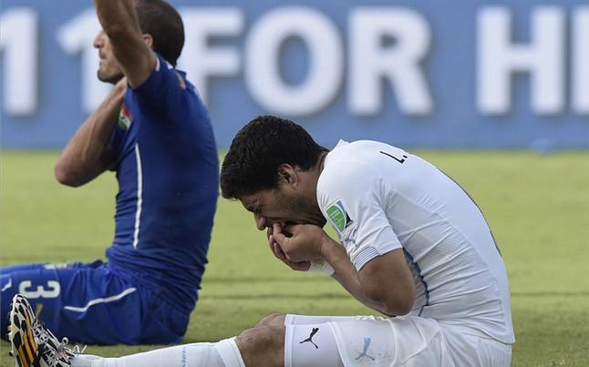 Suárez - Chiellini, reencuentro en la final de la Champions de Berlín
