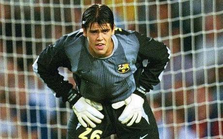 Víctor Valdés, el día de su debut