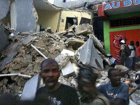 El epicentro del terremoto se produjo a 22 kilómetros de la capital, Puerto Príncipe. | AFP