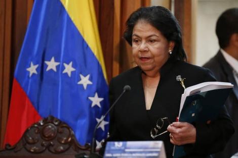 Luisa Estella Morales, presidenta del Tribunal Supremo de Justicia de Venezuela. | Reuters