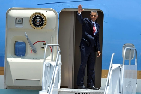 Obama finaliza su tour por centroamérica. | Foto: Afp