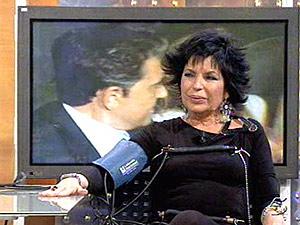 Nana Alonso, ex cuñada de Andrés Pajares, responde al pol�grafo en 'A tu lado'. (Foto: Telecinco)