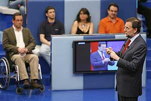 Mariano Rajoy en 'Tengo una pregunta para usted' de TVE. (Foto: EFE)