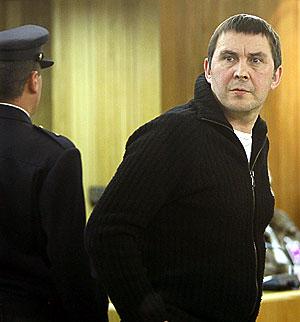 Otegi, durante el juicio en la Audiencia por enaltecimiento del terrorismo. (Foto: POOL)