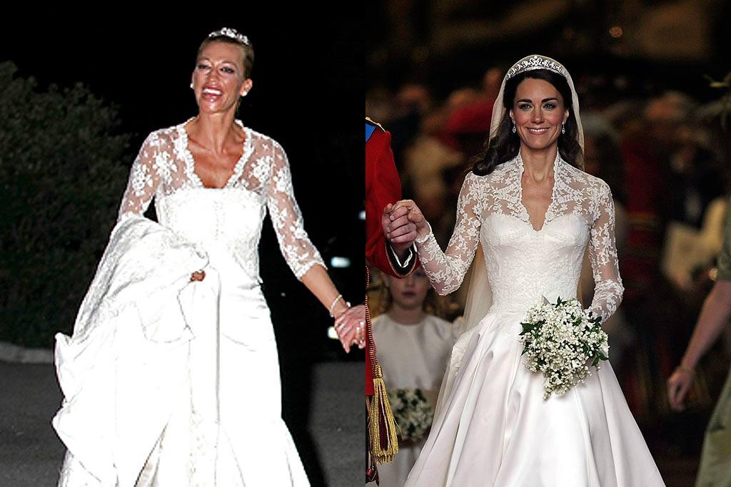 Vestido de boda de belen esteban