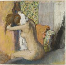 'Mujer después del baño'.