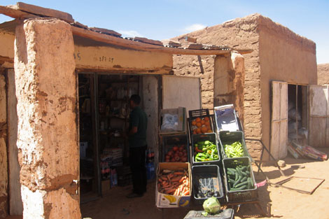 Mercado de Dajla. | R.Q.
