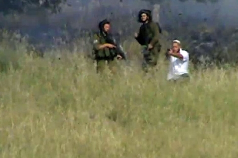 Captura de uno de los vídeos porporcionados por la ONG.| Afp