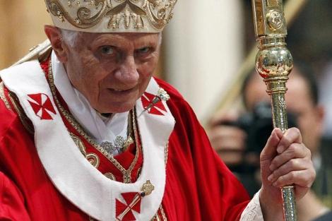 El Papa Benedicto XVI en Roma. | Efe