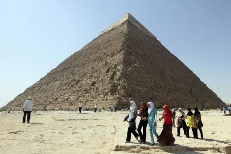 La pirámide de Kefrén. | Efe