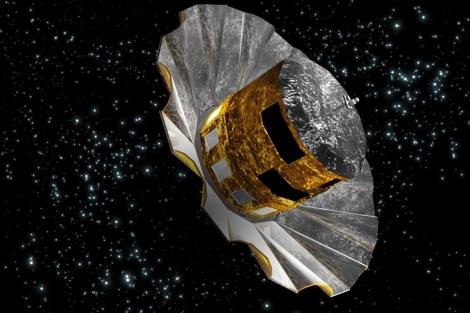 Recreación del aspecto de 'Gaia'. | C.Carreau/Agencia Espacial Europea (ESA)