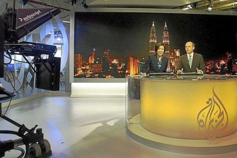 Estudios de Al Jazeera. | Tengku Bahar