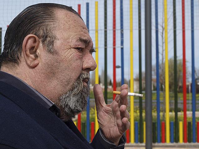 El asesino confeso de Brouard, recientemente en el pequeño municipio donde reside. | Antonio Rubio