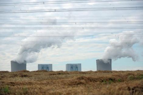 Humo procedentes de unas torres en Alemania, que llevan CO2 a la atmósfera.| Efe