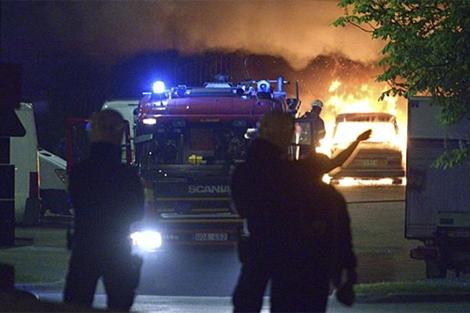 Disturbios en Estocolmo. | Efe