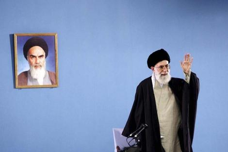 El ayatolá Ali Jameini en Teherán. | Reuters