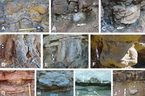 Las pisadas han sido halladas en las orillas de varios ríos en los Pirineos. | Unizar