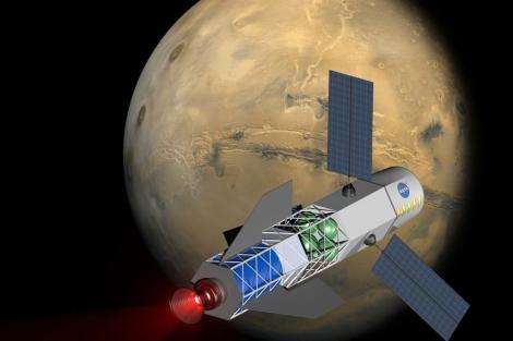 Concepto de MSNW para una nave de fusión. | MSNW/NIAC/NASA