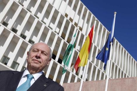 El presidente de los procuradores de Málaga, Francisco Bernal. | ELMUNDO.es