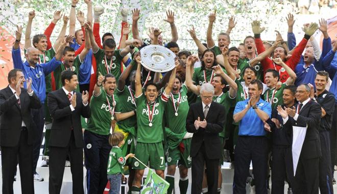 Wolfsburgo campeón