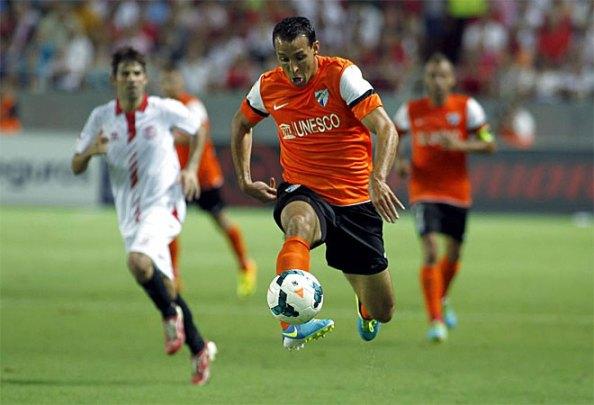 Эль-Хамдауи сыграл свою первую минут с Малагой и оставил хорошее чувство.