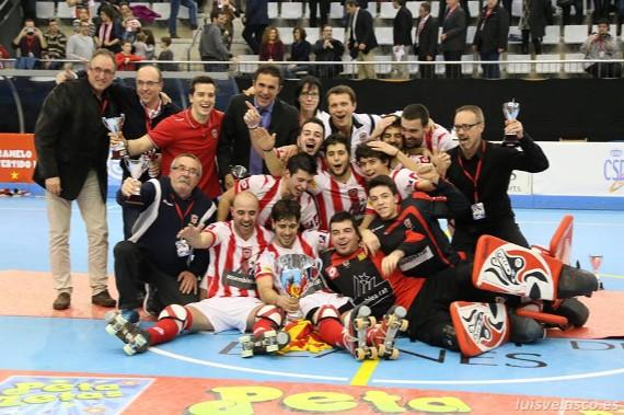 CP. Vic, campeón de la Copa del rey 2015. Luis Velasco