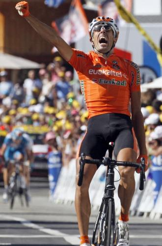 Astarloza celebra con rabia su victoria
