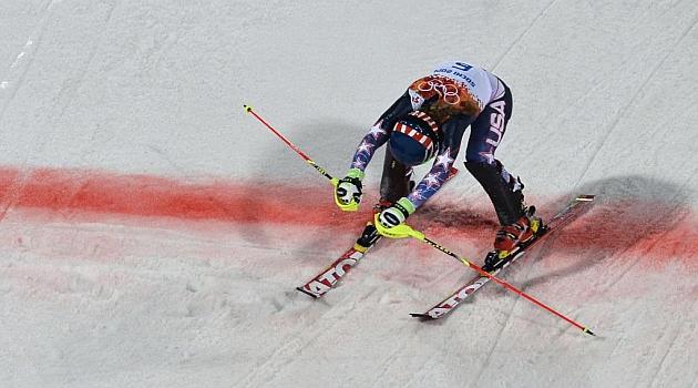 Mikaela Shiffrin hace historia en el eslalon olímpico